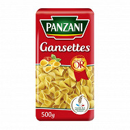 Panzani pâtes gansettes 500g