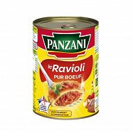 Panzani ravioli pur boeuf 1/2 400g