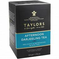 Taylors of harrogate thé afternoon darjelling 20 sachets 50g