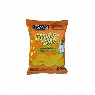 Samai chips banane plantain sucrées 75g