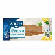 Delpierre filets de harengs fumés doux 200g