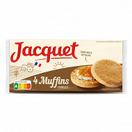 Jacquet muffins complet 245g