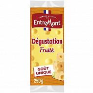 Entremont tendre dégustation moelleux et fruité portion 250g 45%mg