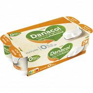 Danone Danacol 0% spécialité laitière maigre nature 8x125 g