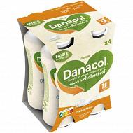 Danone Danacol 0% spécialité laitière à boire nature 4x100 g