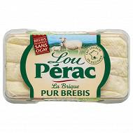Lou Pérac brique au lait pasteurisé de brebis 26%mg 150g