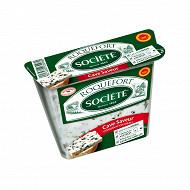 Société cave saveur roquefort aop lait cru brebis  31.7%mg 150g