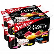 Nestle Sveltesse 0% yaourt aux fruits avec morceaux de biscuits 12x125g