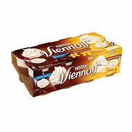 Viennois 4 chocolats - 4 vanilles 8x100g