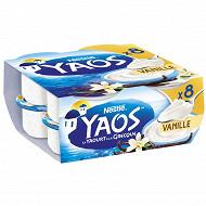 Yaos aromatisé vanille 8x125g