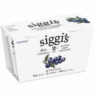 Siggis 0% myrtille 2x140g