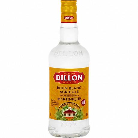 Dillon rhum agricole blanc 70cl 40%vol