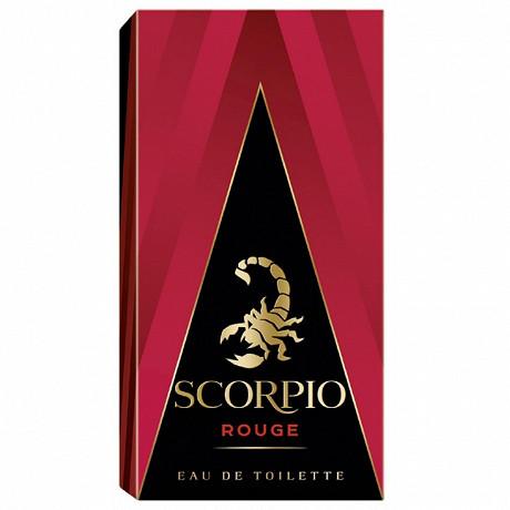 Scorpio eau de toilette vaporisateur rouge 75ml