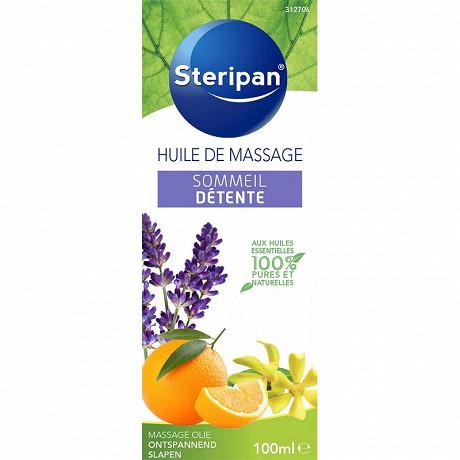 Steripan huile de massage sommeil détente aux huiles essentielles 100ml