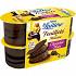La Laitière feuilleté de mousse chocolat noir 4x57g