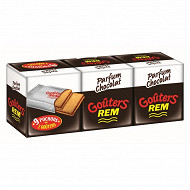 Rem  goûters parfum chocolat 375g