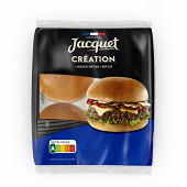 Jacquet 4 burgers création nature 260g