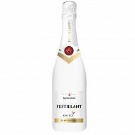 Festillant on ice boisson effervescente à base de vin 0%