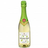 Festillant mojito boisson effervescente base de vin 0%