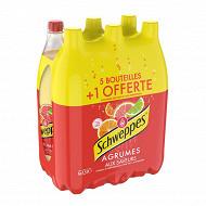 Schweppes agrum' 6x1,5l (5+1 bouteille offerte)