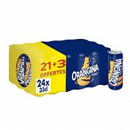 Orangina slim  boites 33cl  21+3 offertes
