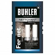 Buhler nettoyant fer batonnet 2x20g