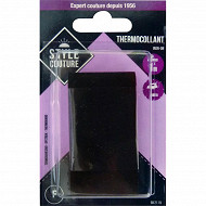 Thermocollant 1m x 3,5mm noir Style couture