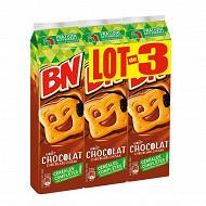Bn chocolat lot de 3 885g