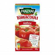Panzani sauce tomate brique grand tomacouli nature 500g