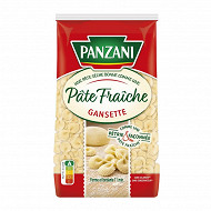 Panzani qualité pâtes fraiches gansette 400g