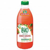 Andros jus d'orange sanguine bio pet 75cl