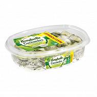 Bonduelle concombres au fromage blanc et ciboulette 800g