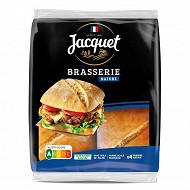 Jacquet 4 brasserie burger nature 330g