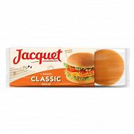 Jacquet hamburger brioché x6 300g
