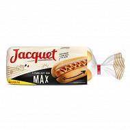 Jacquet 4 hot dog max 340g