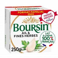 Boursin gourmand ail & fines herbes 250g