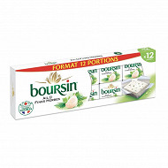 Boursin ail et fines herbes 12 portions 192g offre irrésistible