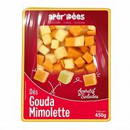 Centurion mixe dés mimolette/gouda 450 g