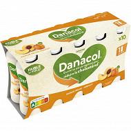 Danone Danacol 0% spécialité laitière à boire à la pêche et à l'abricot 10x100 g