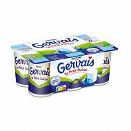 Gervais le petit suisse nature 9.5%mg 6x60g