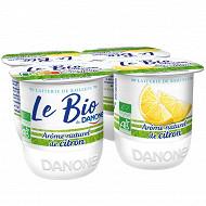 Danone bio citron 4x125g