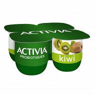 Activia bifidus fruit kiwi 4x125g