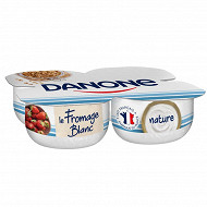Danone fromage blanc nature 3.2 % mg 4 x100g