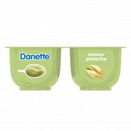 Danette saveur pistache 4x125g