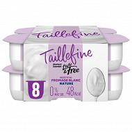Danone Taillefine 0% spécialité laitière au fromage blanc 8x100g