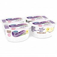 Danone Taillefine 0% spécialité laitière aromatisée saveur vanille 4x120 g
