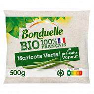 Bonduelle haricots verts bio 100% français 500g