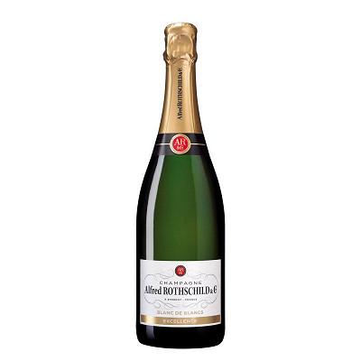 Alfred Rothschild & Cie Alfred Rothschild & cie champagne blanc de blancs 75cl 12.50%vol