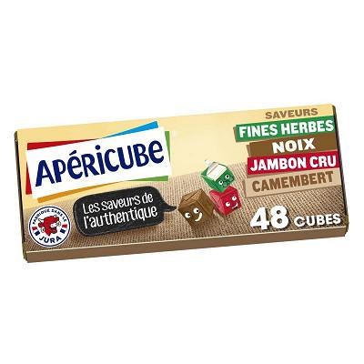Apéricube Apéricube authentique 48 cubes 250g