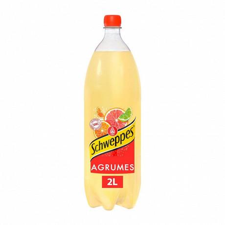 Schweppes agrum boisson gazeuse aromatisée aux fruits pet 2L